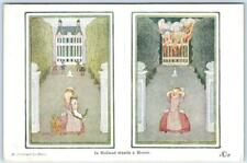 Signed Artist  WILLEBEEK LE MAIR   In Holland Stands a Home  Fire  Postcard