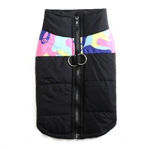 Pet Vest Jacket Warm Waterproof Pet Dog Clothes Small/Large Winter Padded Coat W