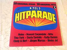 "VARIOUS (LP) ""K-TEL´S HITPARADE"" [HEINO/CORDALIS/EBSTEIN/CARPENDALE...]"