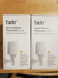 tado° Smart Radiator Thermostat (Vertical Mounting) -  Pack of two
