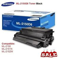 2 X Genuine Samsung ML-2150D8 Toner Black 8K Pages for ML-2150/2151N/2152W/2551N