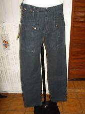 Pantalon coton noir GAS reverse satin BLACK BOARD w30 38/40 17VH38