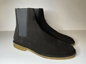 SAINT LAURENT Chelsea Boots Nevada 20 Soho Black Size 45 US 12 Hedi Slimane NEW