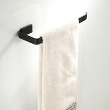 3-6kg BLACK Brass Towel Rack Rail Paper Roll Toilet Brush Holder Robe Hook
