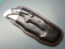 Leather pancake sheath for Cold Steel Espada XL  - both versions or Rajah 2