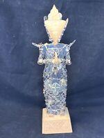 Indonesian Balinese Kepeng Dewi Sri Rice Goddess Folk Art Coin Sculpture Thai