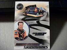 2003 PRESS PASS SKIDMARKS ROBBY GORDON RACE TIRE CARD