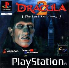 PSX Playstation PSOne - Dracula 2 - The Last Sanctuary - New Factory Sealed