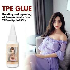 New listing Tpe Solvent Glue For Silicone Doll Repair Tpe Solid Split Tear 30ml/Bottle C1B3