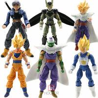 "6pcs Dragonball Z 6"" Action Figures Set DBZ Goku Piccolo"
