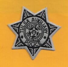 A15 * HTF TULSA OK AUXILIARY DEPARTMENT STATE POLICE STOCK EAGLE PATCH