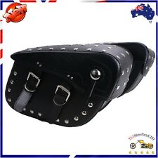 1 Pair Motorcycle Universal Saddle Bags Rider Panniers Luggage Bag For Harley