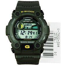 Reloj digital * Nuevo * CASIO Mens G Shock Oro Negro XL G-7900 - 3DR 3ER RRP £ 149