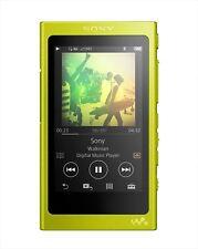 Sony Digital Audio Hi-Res Player Walkman A Series Yellow 16Gb Nw-A35Hn Y New