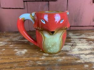Gibson Home Fox Red Coffee Mug EXCELLENT CONDITION!