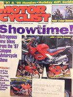 Motor Cyclist Magazine BMW K1200RS Suzuki fuel Injected January 1997 020518nonrh