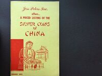Jess Peters.A Priced Listing of the Silver Coins of China. Coin Catalogue.1972