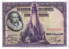 España/Spain 100 pesetas 1928 pick 76 (3)