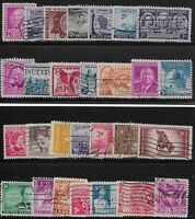 US Scott #953-80, Singles 1948 Complete Year FVF MNH