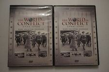 Lot of 2 The World In Conflict 1931-1944,1944-1945   Rare Archival Footage (DVD)