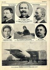 Damen-Höhenweltrekord in Johannisthal aufgestellt-Potsdamer Luftschiffhafen 1912