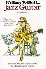It's Easy To Bluff... Jazz Guitar Guitar Tab Book Instrumental Tutor