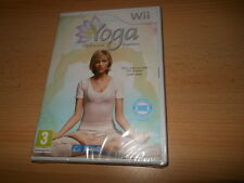 Yoga For Nintendo Wii / Wii U. Fitness. New & Sealed. PAL