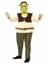 Child's Boy's Licensed Disney Shrek Fancy Dress Costume Book Day Kids Party Fun