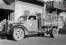 Vintage NEGATIV Foto Jahre Österreich LKW Transporter Bier Brauerei Wieselburg