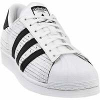 adidas Superstar Mens  Sneakers Shoes Casual   - White - Size 7.5 D
