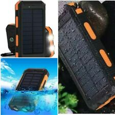 900000mAh USB Portable Solar Power Bank Battery Charger for Cell phonWaterproof