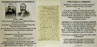 BLACK HAWK/SEMINOLE/MEXICAN CIVIL WAR GENERAL COLONEL EXPLORER LETTER SIGNED VF!