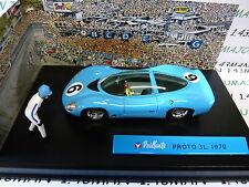 voiture altaya IXO 1/43 diorama BD MICHEL VAILLANT : PROTO 3L 1970 n° 47