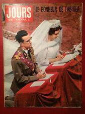 Jours De France - 24/12/60 - Baudouin Fabiola / Bardot Vadim / Mode / Loren