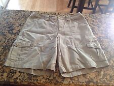 Ladies London Jean Chino Shorts Size 12 In Pre-owned Condition!