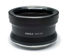 GABALE PK 645-GFX Adapter Pentax 645 Lens to Fujifilm GFX Medium Format Camera