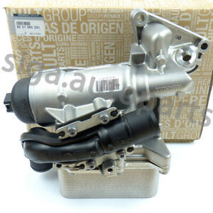 RENAULT TRAFIC MK2 OPEL VIVARO 2.0 dCi CDTI 2006-2014 Oil Cooler Filter Housing