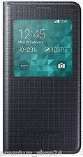 Original Samsung cover s View ef-cg850bw para Galaxy Alpha SM g850 f bolso Black