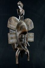 Art Africain Arts Premiers - Masque Kpelie Senoufo Senufo African Mask 38,5 Cms