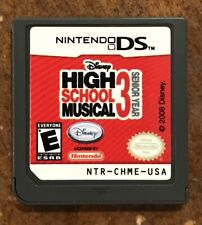 High School Musical 3: Senior Year Nintendo DS/DSi Game (cleaned, polished!)