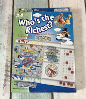 Who's The Richest Travel Board Game Family Games Kids Trade