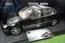 TOYOTA ARISTO V300 noir black à l'échelle 1/18 AUTOart 70046 voiture miniature