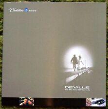 1998 Cadillac DeVille Brochure 98