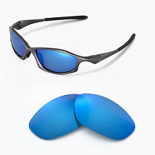 New WL Polarized Ice Blue Replacement Lenses For Oakley Hatchet Wire Sunglasses