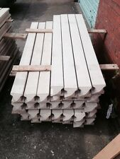 7ft Reinforced slotted concrete post