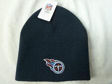 New NFL TENNESSEE TITANS Logo Beanie Hat Navy Blue Ski Cap Football Team Apparel