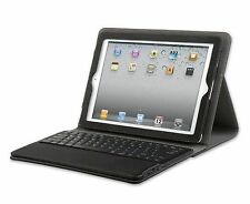 Black PU Leather Detachable Bluetooth Keyboard Case + Stand for iPad Air 5
