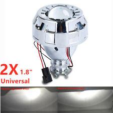 "2PC 1.8"" Full metal Bi-xenon projector lens Hi/Lo Beam for H1 H4 H7 Headlights"