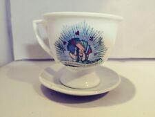 Hendricks Gin Collectable Coffee/tea Gin Mug Cucumber With Saucer