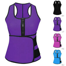 Women Waist Trainer Body Shaper Vest Sport Slimming Adjustable Sweat Belt Straps